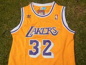 Jersey Los Ángeles Lakers Clásica Retro Magic Johnson 32