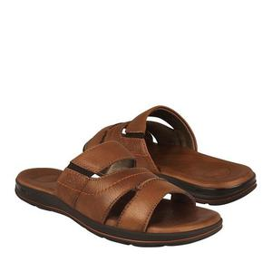 Sandalias Para Caballero Flexi Piel Tan