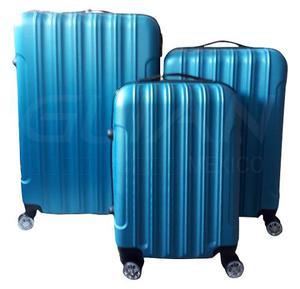 Set 3 Maletas Rigidas De Viaje Con Candado Seguridad