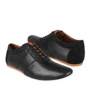 Zapatos Casuales Stylo -pu Simipiel Negro