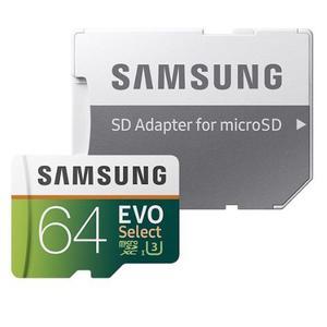 Envío Gratis! Memoria 64gb Micro Sdxc U3 Evo Samsung Clas
