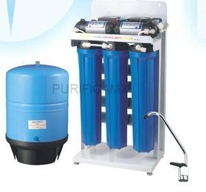 Equipo Osmosis Inversa Comercial 400 Gpd 5 Etapas Con Bombas