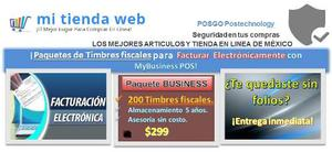 Paq.200 Timbres Fiscales Cfdi, My Business Pos.internet