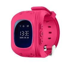 Reloj Gps Localizador Para Niños Q50 Color Rosa
