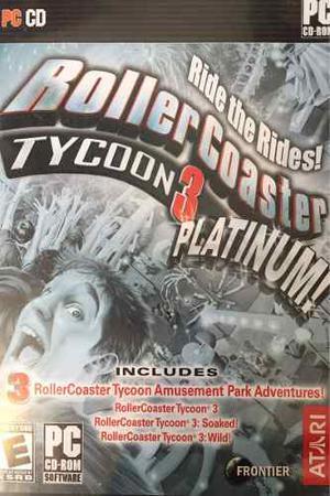 Roller Coaster Tycoon 3: Platinum