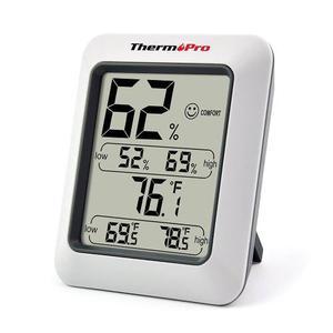 Thermopro Tp50 Higrometro Termometro Monitor De Humedad