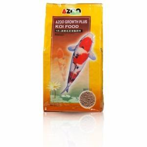 Alimento Azoo 9 In 1 Koi Growth Pellet 3mm/1kg Pellet Chico