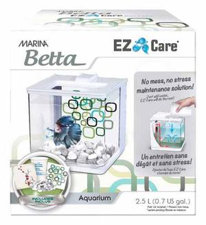 Betta Kit Ez Care Blanco Autolimpieza