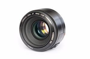 Lente Yongnuo 50mm F1.8 Autofocus Para Canon Ef
