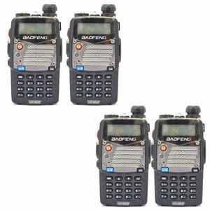Paquete De 4 Radios Profesional Baofeng Uv-5ra+ Plu Vhf/uhf