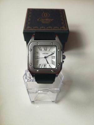 Reloj Cartier Santos Silver