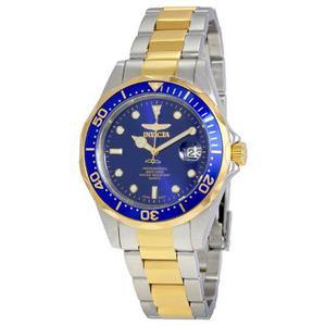 Reloj Invicta Pro Diver Hombre Acero Inoxidable 18k Oro