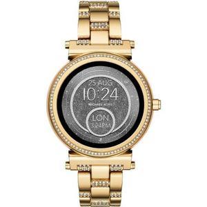 Reloj Michael Kors Sofie Smartwatch Con Cristales