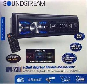 Autoestereo Soundstream Bluetooh Vm23b Modelo