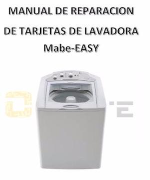 Manual Para Reparacion De Tarjetas De Lavadora Mabe-easy