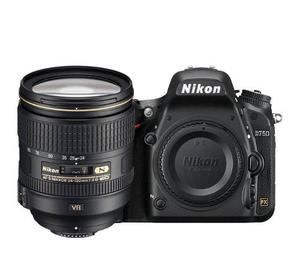 Camara Profesional Nikon D750 + Nikkor mm F4 Seminueva
