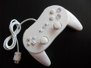Classic Control Pro Para Wii Y Wii U Color Blanco
