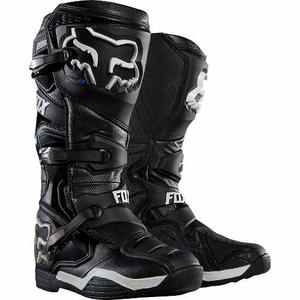Botas Fox Comp 8 Negra  Moto Cross Atv Rzr Mx Talla 8