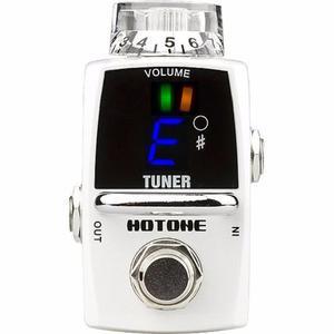 Hotone Stu-1 Tuner Pedal Afinador Guitarra Bajo True Bypass