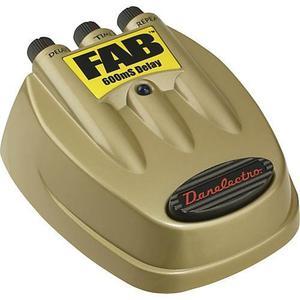 Pedal Danelectro D-8 Fab 600 Delay Confirmar Existencia
