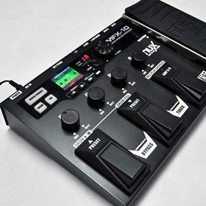 Pedalera Multiefectos Nux Mfx-10 Con El Envio Gratis