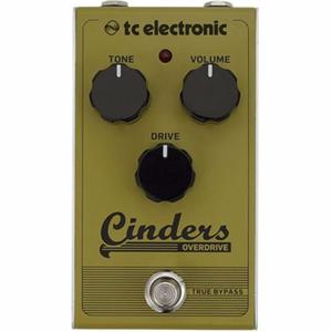 Tc Electronic Pedal Cinders Overdrive True Bypass