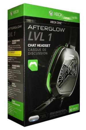 Audifonos Afterglow Lvl 1 Blanco/negro Xbox One Nuevo