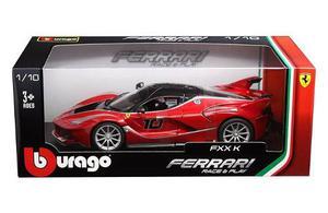 Burago Escala 1:18 * Ferrari Fxxk * Rojo # 10