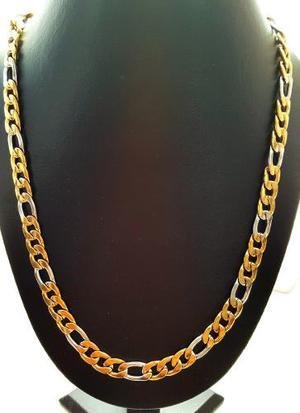 Collar De Oro Laminado Caballero 60cms Envio Gratis