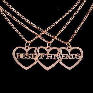 Collares Dije Corazon Mejores Amigos Best Friends Dhl Gratis