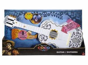 Disney Pixar Coco Guitarra Interactiva Luz Y Sonidos