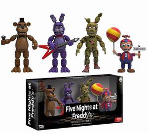 Fnaf Five Nights At Freddy S Funko 4 Figuras 2 Set Pack