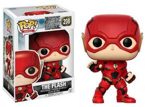 Funko Pop Dc Comics Justice League Flash 208 Super Heroes
