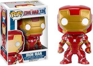 Funko Pop Marvel Captain America Civil War Iron Man 126 Envi