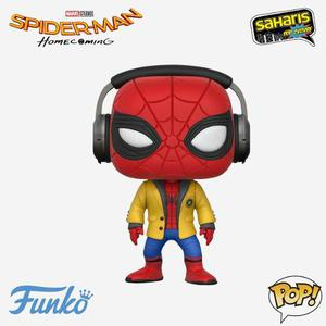 Funko Pop Spider Man (with Headphones) (265) Spider Man