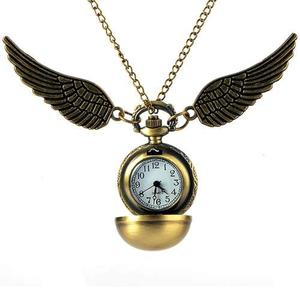 Genial Reloj De Bolsillo Snitch De Harry Potter Pocket Watch
