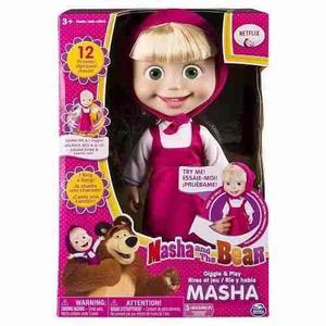 Masha Y El Oso 28m Cm Habla 12 Frases Spin Master
