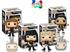 Metallica Set 4 Piezas Funko Pop Rock Nothing Else Matter Cf