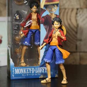 One Piece Monkey D Luffy Figura Articulada Envio Gratis
