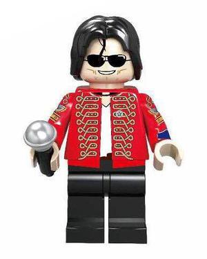 Pse 23 Genial Figura Michael Jackson Compatible Con Lego