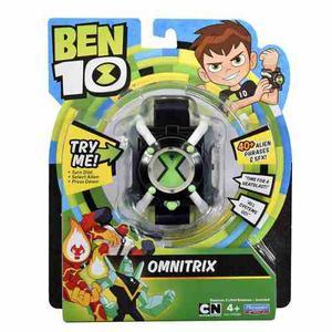 Reloj Ben 10 Omnitrix Luz Y Sonidos  Frases Envio Dhl