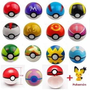 Set De 13 Pokebolas + 13 Pokemon 3cm, Pokeball, Envio Gratis