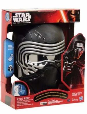 Star Wars Kylo Ren Máscara Eletronica Distorsionador Hasbro