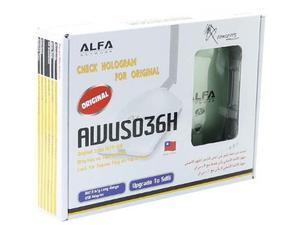 Antena Wifi Inalambrica Alfa Awus036h 1 Ralink Rtl Red