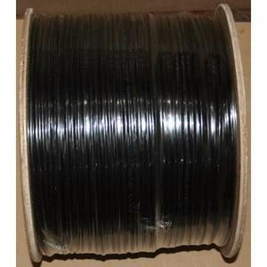 Cable Utp Doble Forro Exterior Cat5e Negro Cal Mts B03