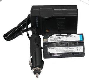 Magnifico Kit De Cargador Y Bateria Para Videocamaras Sony