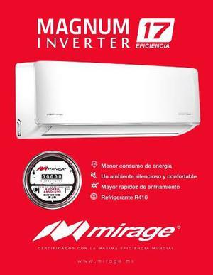 Minisplits Mirage Inverter Magnum 17 1 Ton 220v Envió