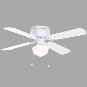 Ventilador Abanico Techo Littleton 42 Blanco Envío Gratis