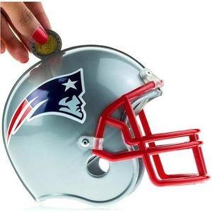 Alcancía Nfl Colección New England Patriots Patriotas