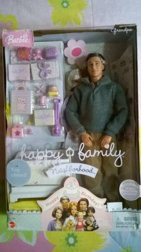 Fashion Toys Pareja De Abuelos Happy Family Barbie Coleccion